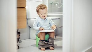 Potty Training at Two